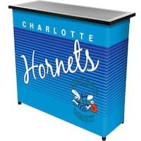 Charlotte Hornets Hardwood Classics NBA Portable Bar w/Casee