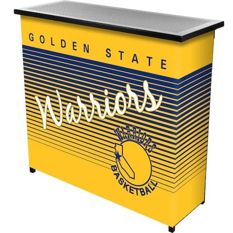 Golden State Warriors Hardwood Classics NBA Portable Bar w/Case