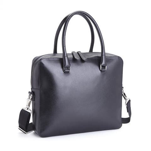 7a084f8e0192 Royce Leather RFID Blocking Executive Travel Briefcase in Saffiano Genuine  Leather
