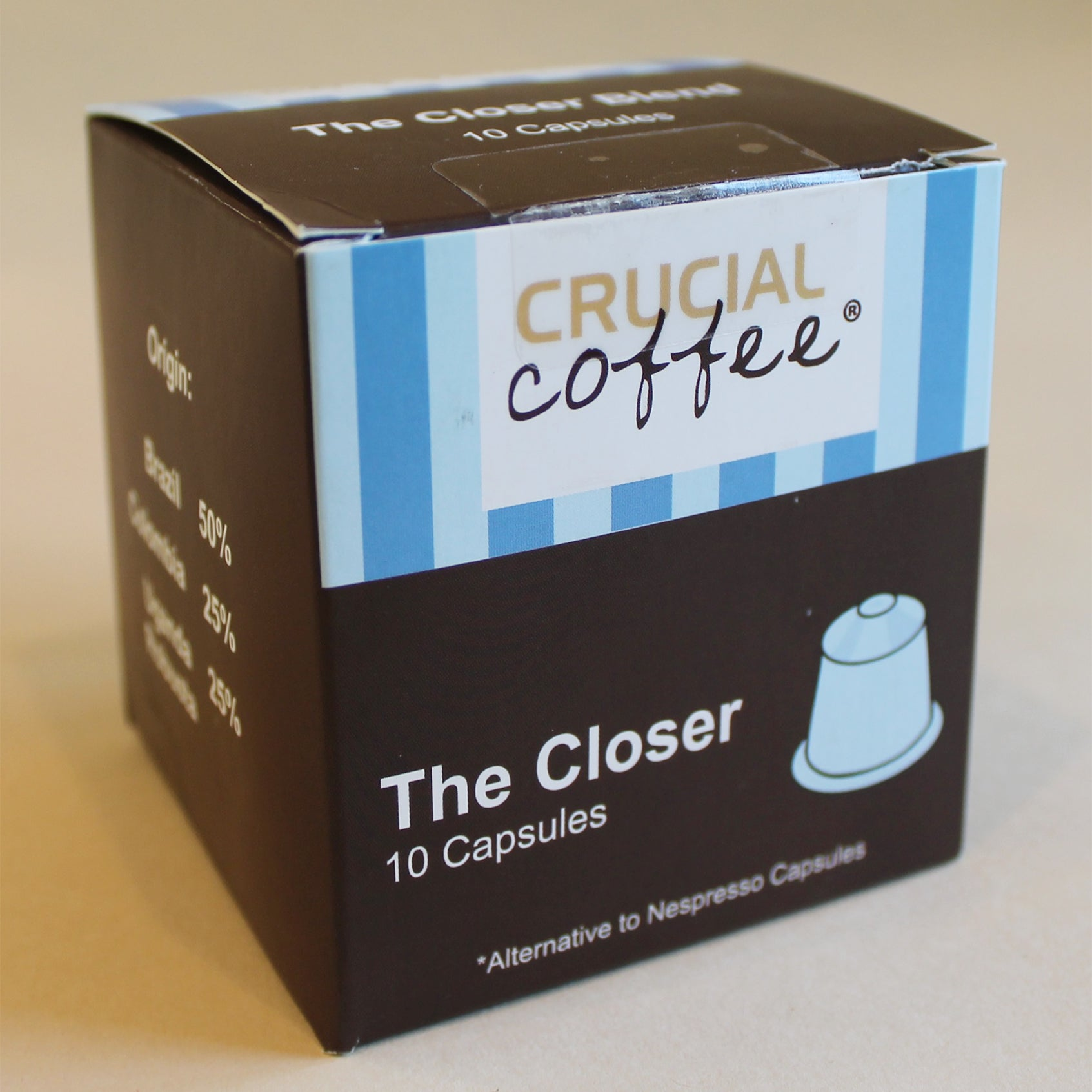 Crucial 10 High Performance Replacement Coffee Capsules f...