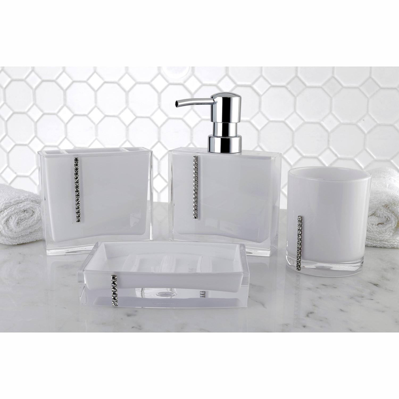 Crystal White 4 Piece Bath