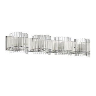 chloe contemporary 4 light chrome bath vanity light bathroom vanity lighting 7