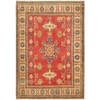 ecarpetgallery Finest Gazni Red Wool Rug (4'0 x 5'8)