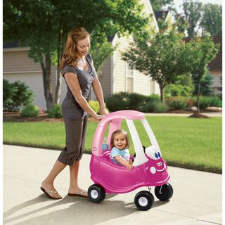 Little Tikes Magenta Plastic Cozy Princess Coupe