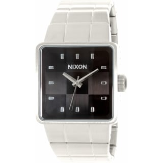Nixon Men's Quatro A013000 Stainless Steel Quartz Watch