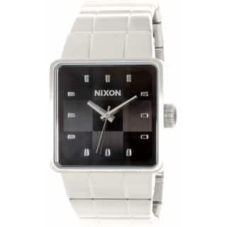 Nixon Men's Quatro A013000 Stainless Steel Quartz Watch|https://ak1.ostkcdn.com/images/products/10650222/P17717161.jpg?impolicy=medium