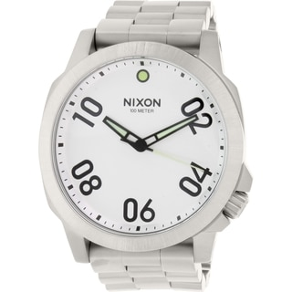 Nixon Men's Ranger 45 A521130 Stainless Steel Quartz Watch