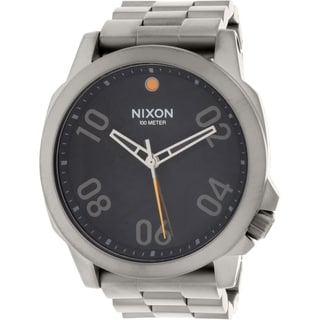 Nixon Men's Ranger 45 A5211531 Grey Stainless Steel Quartz Watch