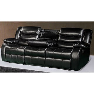 Meridian Gramercy Reclining Sofa with Plush Pillow Arms