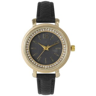 Olivia Pratt Women's Elegant Petite Rhinestone Watch