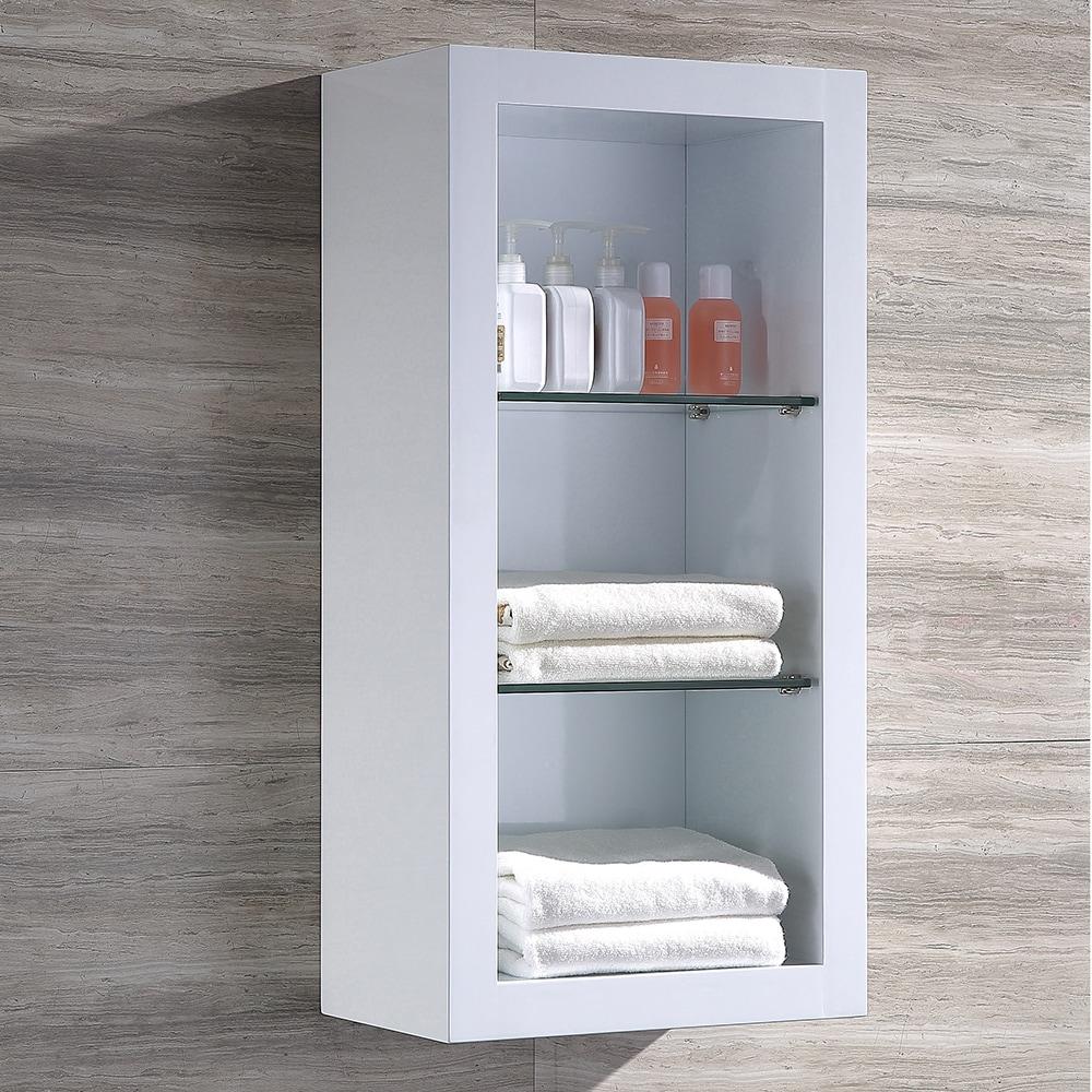 Fresca Allier White Bathroom Linen