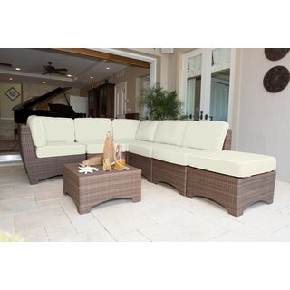 Panama Jack Key Biscayne 7-piece Sectional