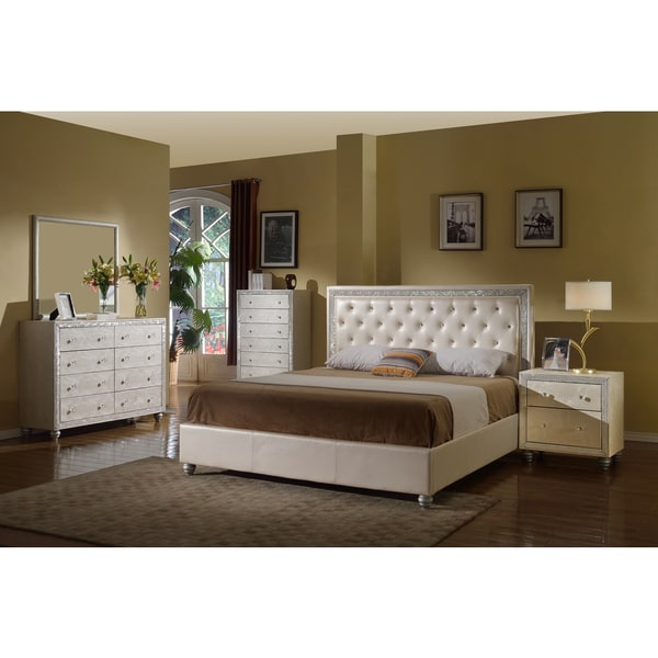 Meridian Pearl Mirage Bedroom Set Free Shipping Today 17717462