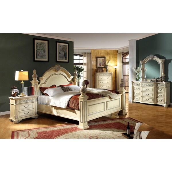 meridian sienna panel bedroom set