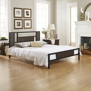 Sleep Sync Grandview Black Platform Bed