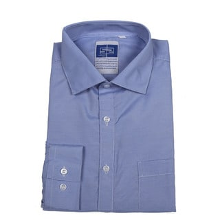 Complicated Shirts Men's Blue Micro Check Shirt