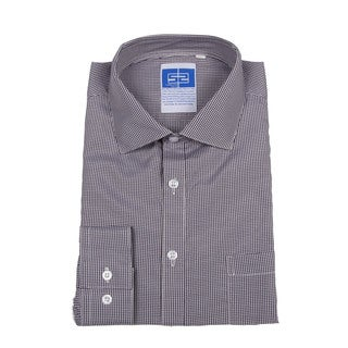 Complicated Shirts Men's Dark Blue Micro Check Shirt