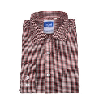 Complicated Shirts Men's Red Check Shirt