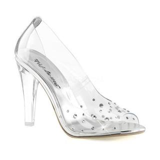 Women's Fabulicious Clearly 420 Pump Clear Lucite
