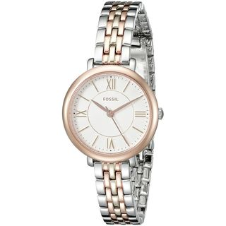 Fossil Women's ES3847 'Jacqueline' Two-Tone Stainless Steel Watch