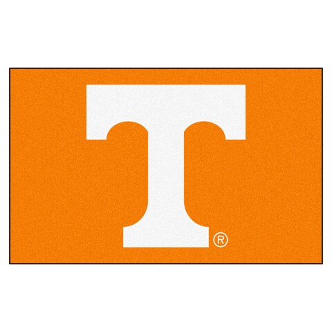 Fanmats Machine-Made University of Tennessee Orange Nylon Ulti-Mat (5' x 8')