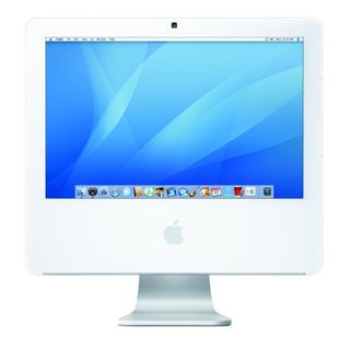 Apple iMac MA710LL/A 17-inch 1.83GHz Intel Core 2 Duo 160GB HDD 512MB RAM Desktop Computer (Refurbished)