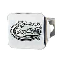 Fanmats University of Florida Chrome Metal Collegiate Hitch Cover