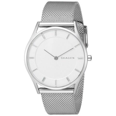 Skagen Women's SKW2342 'Holst Slim' Stainless Steel Watch - Silver