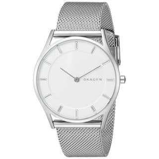 Skagen Women's SKW2342 'Holst Slim' Stainless Steel Watch|https://ak1.ostkcdn.com/images/products/10652767/P17719525.jpg?impolicy=medium