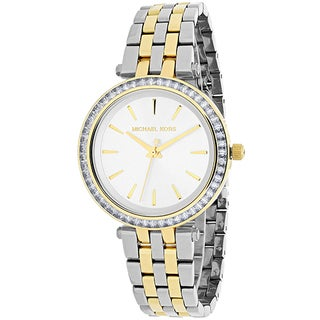 Michael Kors Women's MK3405 'Darci' Crystal Two-Tone Stainless Steel Watch