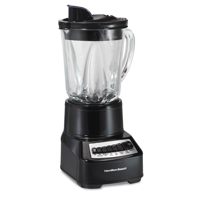 Hamilton Beach Black 14 Speed Glas Jar Blender (Black Mul...
