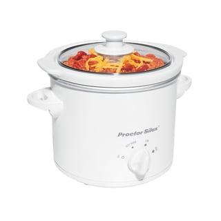 Proctor-Silex 33015YA White 1.5-quart Slow Cooker