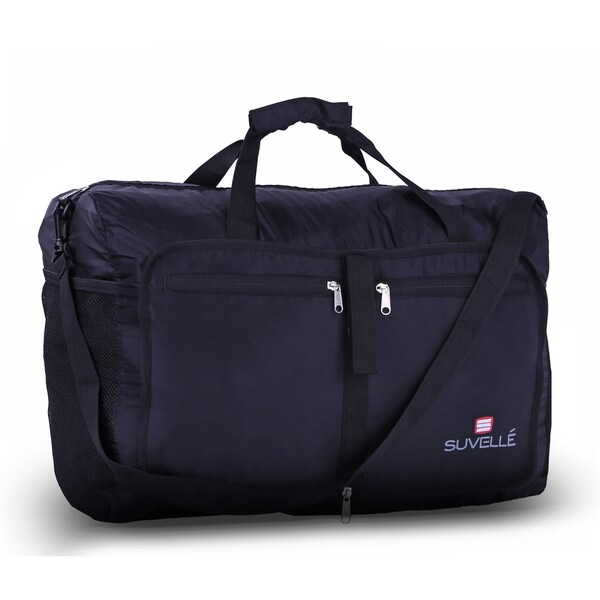 5295f68fd Shop Suvelle Travel Duffel Bag 21-inch Foldable Lightweight Duffle ...