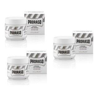 Proraso 100ml Green Tea and Oatmeal Pre-shave Cream