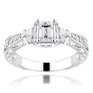 Luxurman 14k Gold 1ct TDW Diamond Vintage Engagement Ring https://ak1.ostkcdn.com/images/products/10652842/P17719603.jpg?impolicy=medium