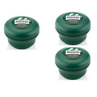 Proraso 4-ounce Menthol and Eucalyptus Shaving Soap