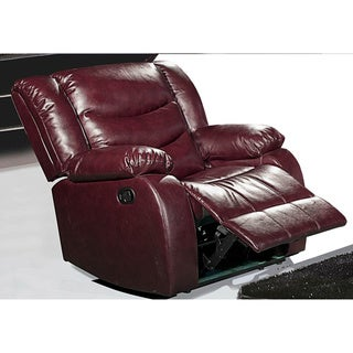 Meridian Gramercy Recliner Reclining Chair with Plush Pillow Arms