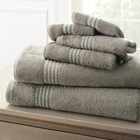 Amrapur Overseas 6-Piece Rayon from Bamboo Towel Set