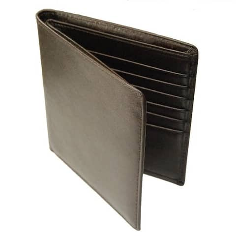 Castello Romano Men's 'Hipster' Italian Leather Wallet