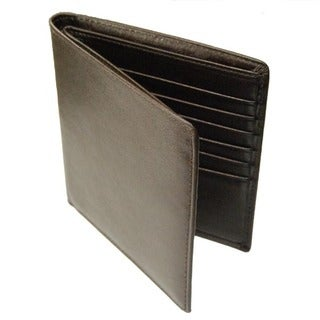 Castello Romano Men's 'Hipster' Italian Leather Wallet