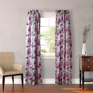 Laura Ashley Lidia 4-piece Lined Curtain Panel Set - 54 x 84