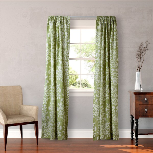 Shop Laura Ashley Rowland 4-piece Sage Curtain Panel Set