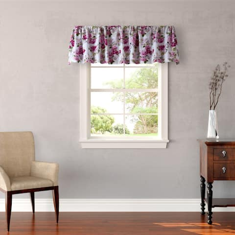 Laura Ashley Lidia Pink Floral Window Valance - M