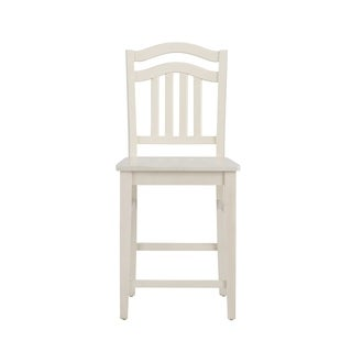 Summerhill Rubbed Linen White Barstool