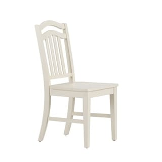 Summerhill Rubbed Linen White Side Chair