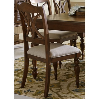 Summer House Cherry Cottage Upholstered Side Chair