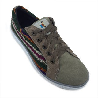 Andiz Women's Size-5 Handmade Multi-colored Oxford Made Wool Shoes (Ecuador)|https://ak1.ostkcdn.com/images/products/10653144/P17719918.jpg?impolicy=medium