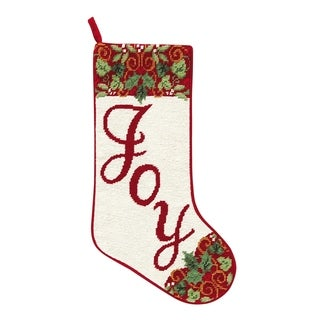 Needlepoint Stocking Joy