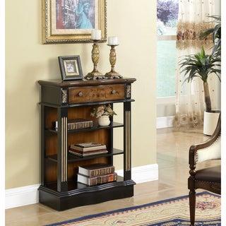 "Somette Black 1-Drawer Bookcase - 27.5""L x 12""W x 36.5""H"