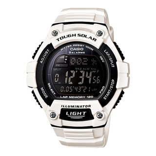 Casio Men's WS220C-7BV Tough Solar Digital Sport Watch